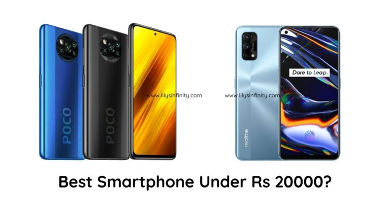 Best Mobile Phone under 20000 INR in India