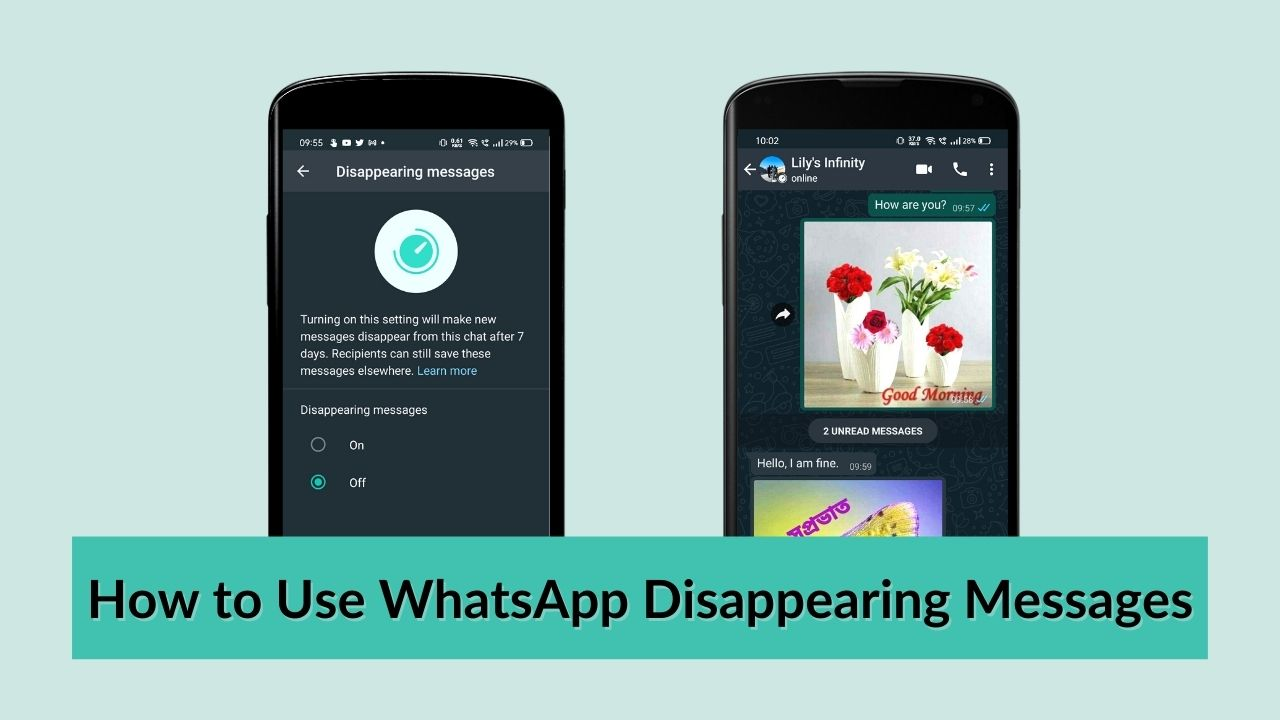 How to Use WhatsApp Disappearing Messages